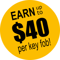 Earn Up To $40 per key fob!