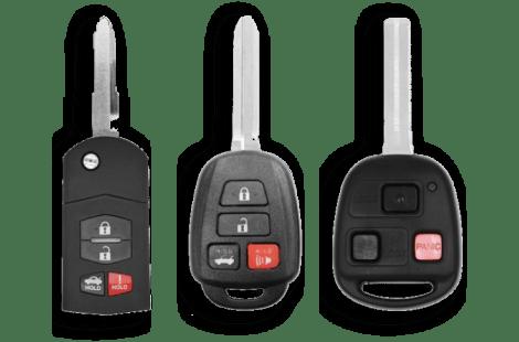 Remote Head & Flip Keys